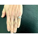 Pre-Loved Jewelry Tiffany 3 Stone Round with Baguettes 2.72 ct