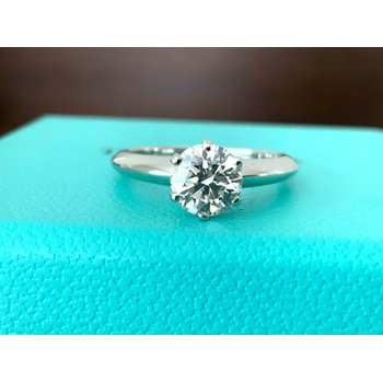 Tiffany 1.02 ct Round