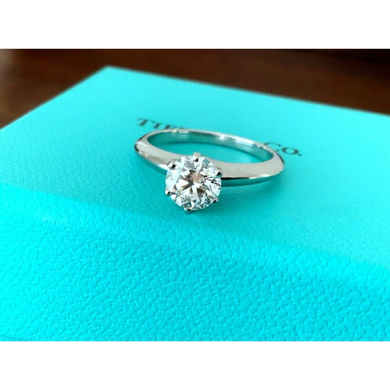 Pre-Loved Jewelry Tiffany 1.02 ct Round