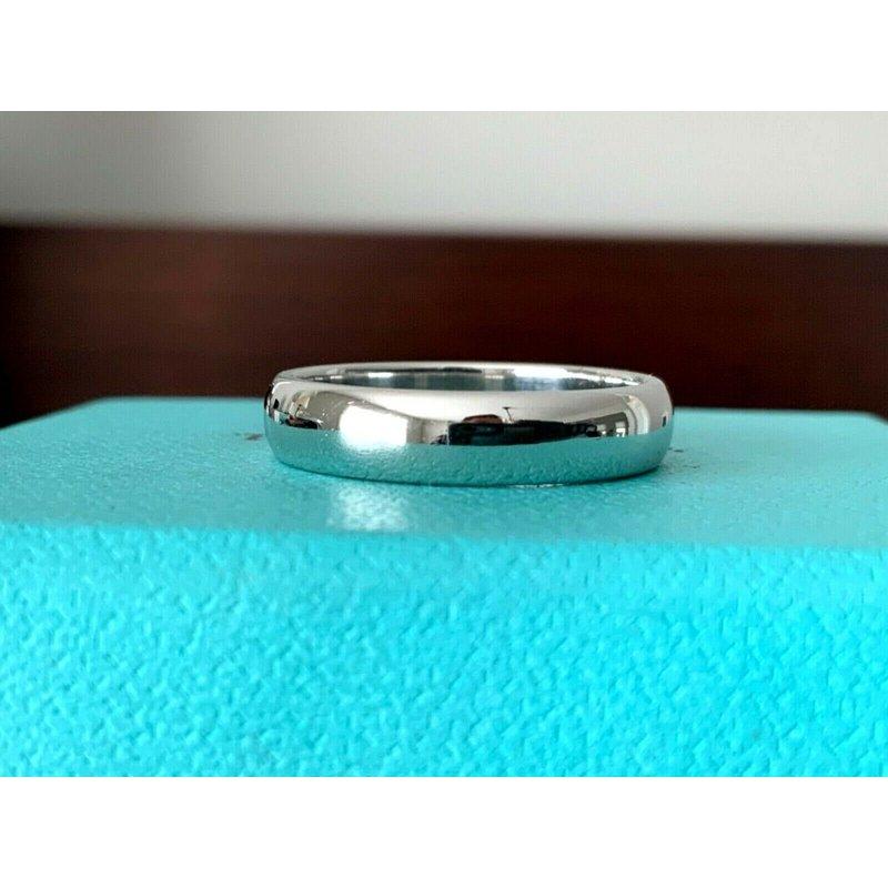 Pre-Loved Jewelry Tiffany 4 mm Platinum Wedding Band $1,550 NEW