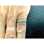 Pre-Loved Jewelry Tiffany Channel Set 2 mm FULL Eternity Band $$3550 NEW