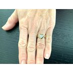 Pre-Loved Jewelry Chopard Happy Diamond Ring 18k Gold