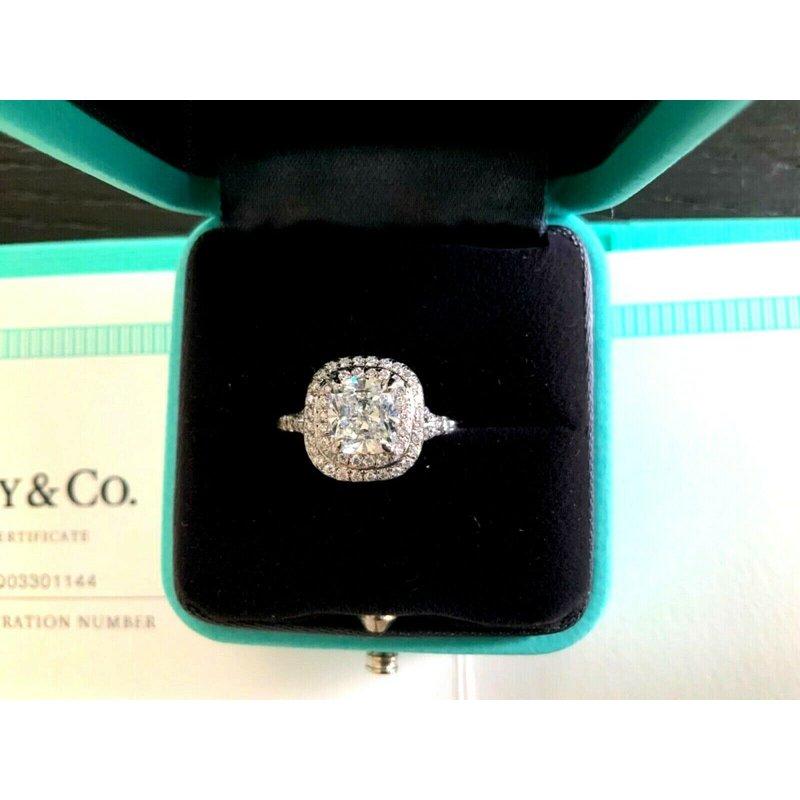 Pre-Loved Jewelry Tiffany Soleste 1.60 ct G VS1 $27k NEW