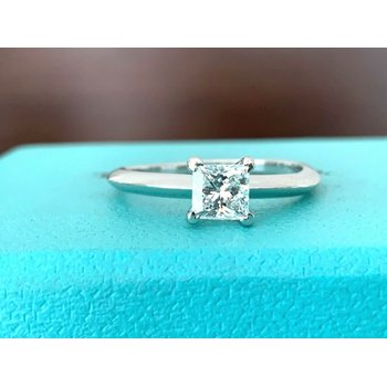 Tiffany Princess .53 ct E VVS2 $6k NEW
