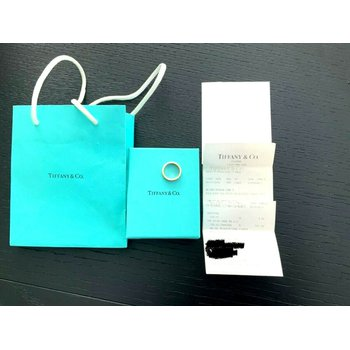 Tiffany 18k ROSE Gold Atlas Ring Size 6.5