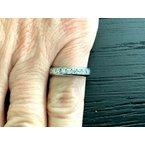 Pre-Loved Jewelry Tiffany LUCIDA Diamond Wedding Band .55 ct $6k NEW