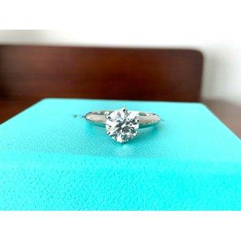 Tiffany 1.15 ct round F VVS2 $20k