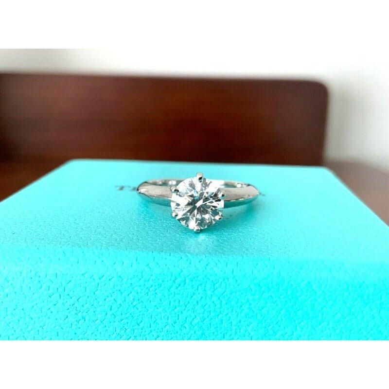 Pre-Loved Jewelry Tiffany 1.15 ct round F VVS2 $20k
