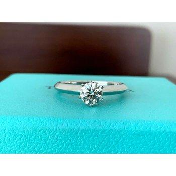 Tiffany Round .51 ct 2020 MODEL $6k NEW