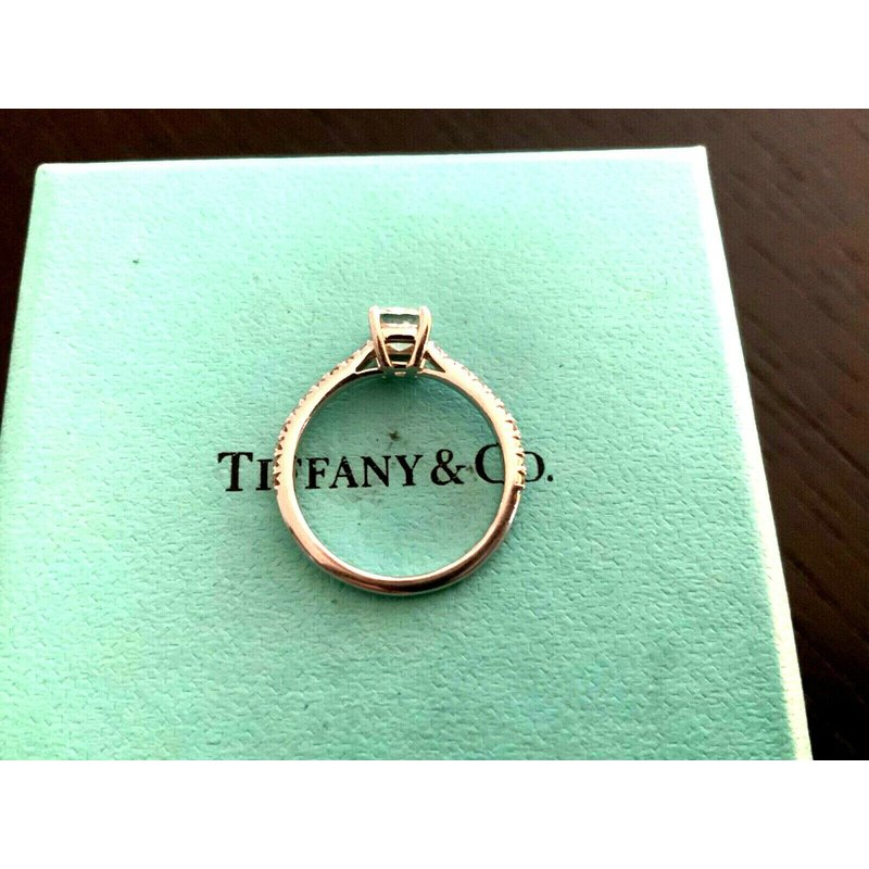 Pre-Loved Jewelry Tiffany .72 ct NEW DESIGN NOVO 2018
