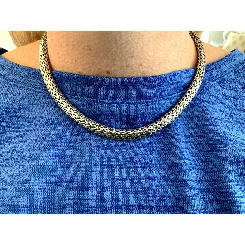 Pre-Loved Jewelry John Hardy 7.5 mm Sterling Necklace