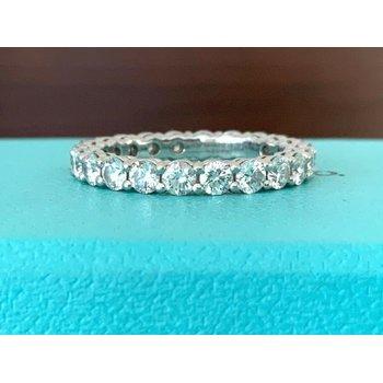 Tiffany Embrace 3 mm Eternity Band $11k 2020 NEW