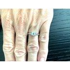 Pre-Loved Jewelry Tiffany LUCIDA .94 ct E VVS2 $15k NEW