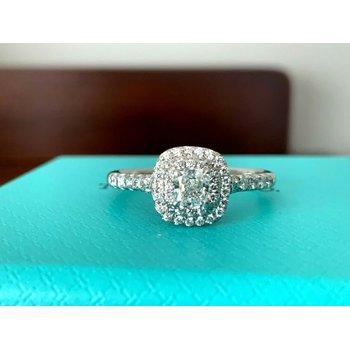 Tiffany Soleste .66 ct F VS1 $6k NEW