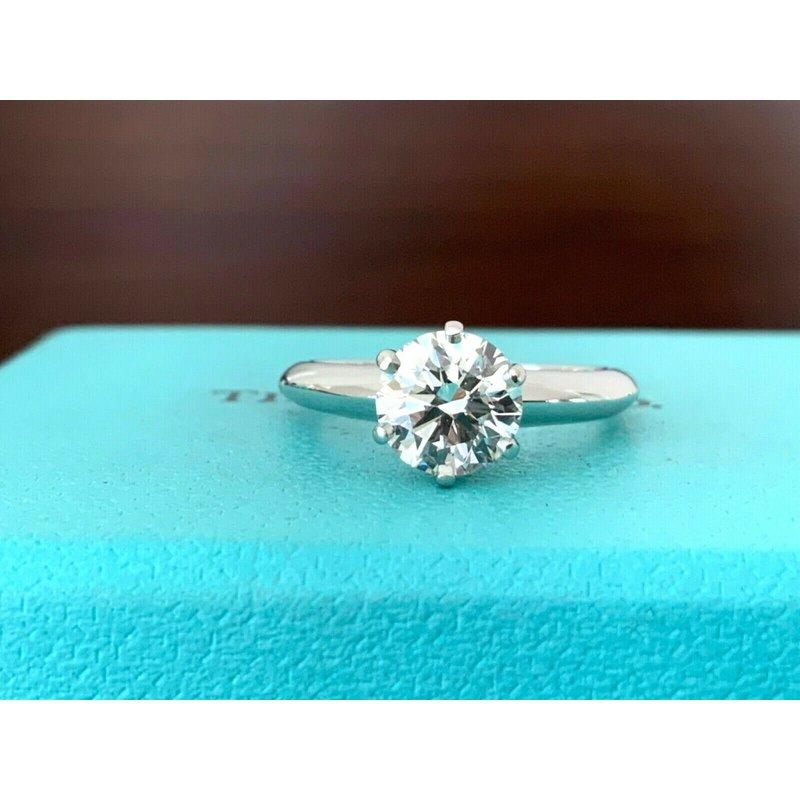Tiffany Round 1.18 ct I VS1 $18k NEW