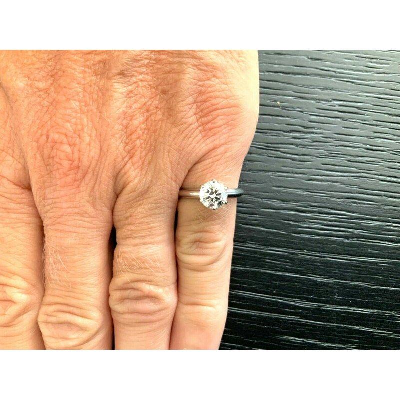 Pre-Loved Jewelry Tiffany Round 1.18 ct I VS1 $18k NEW