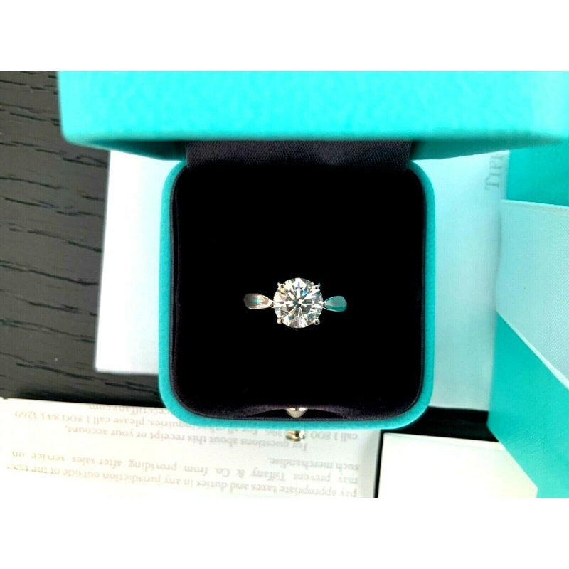 Pre-Loved Jewelry Tiffany & Co HARMONY Round 1.25 ct $18k NEW