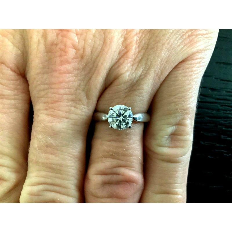 Pre-Loved Jewelry Tiffany & Co HARMONY Round 1.25 ct $18k NEW