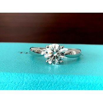 Tiffany & Co HARMONY Round 1.25 ct $18k NEW