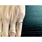 Pre-Loved Jewelry Tiffany Round .25 ct E VVS2 $3k NEW