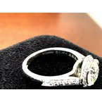Pre-Loved Jewelry Tiffany Halo 1.31 H VVS2 3 EXC $19k