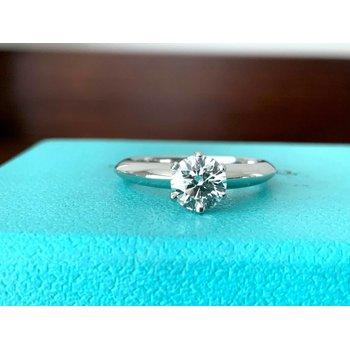 Tiffany Round .71 ct G VVS1 3 EXC $10k NEW
