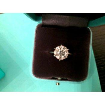 Tiffany Round 2.51 ct I VVS2 $67k NEW