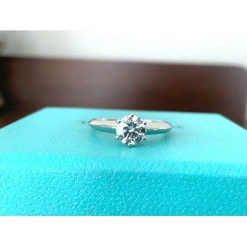 Tiffany Round .61 D VVS2 3 EXC $11k NEW