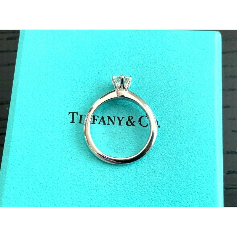 Pre-Loved Jewelry Tiffany Round .59 ct H VVS2 3 EXC $6k NEW