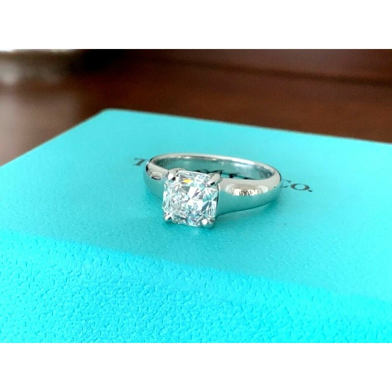 Pre-Loved Jewelry Tiffany LUCIDA 1.35 F VVS2 $24k NEW