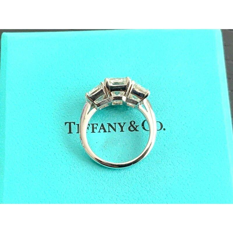 Pre-Loved Jewelry Tiffany Emerald Cut 5.74 ct G/H VVS1 $157k NEW