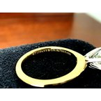 Pre-Loved Jewelry Tiffany Round 1.22 18k Yellow Gold H Int FLAWLESS $22k NEW