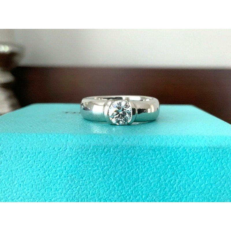 Pre-Loved Jewelry Tiffany Etoile .54 ct F VVS2 $9k NEW