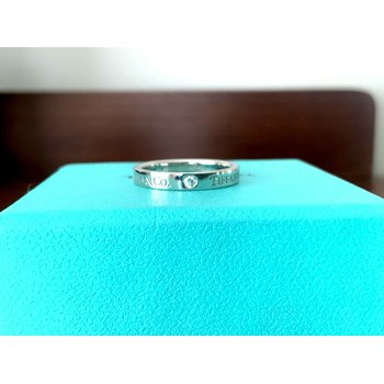 Tiffany 3 diamond Wedding Band $1600 NEW