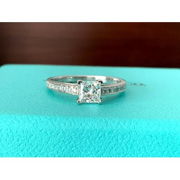 Tiffany GRACE Princess Cut .67 ct
