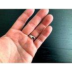 Pre-Loved Jewelry Tiffany 6mm Platinum Double Milgrain Wedding Band