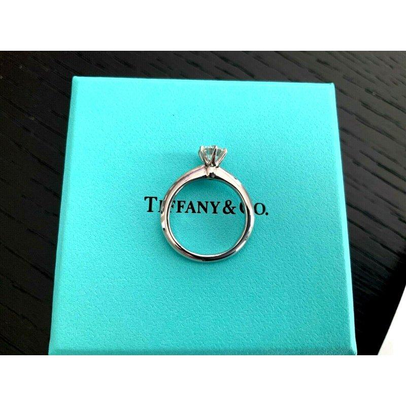 Pre-Loved Jewelry Tiffany Round .58 ct 2018 Model I VS1