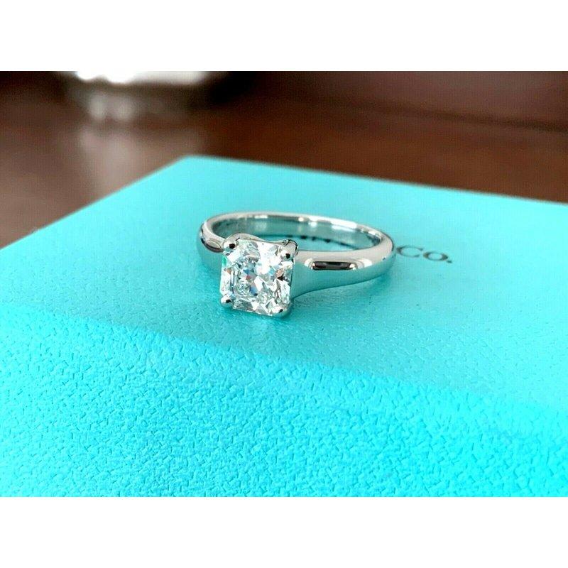 Pre-Loved Jewelry Tiffany LUCIDA 1.10 ct H VS1 $16k NEW