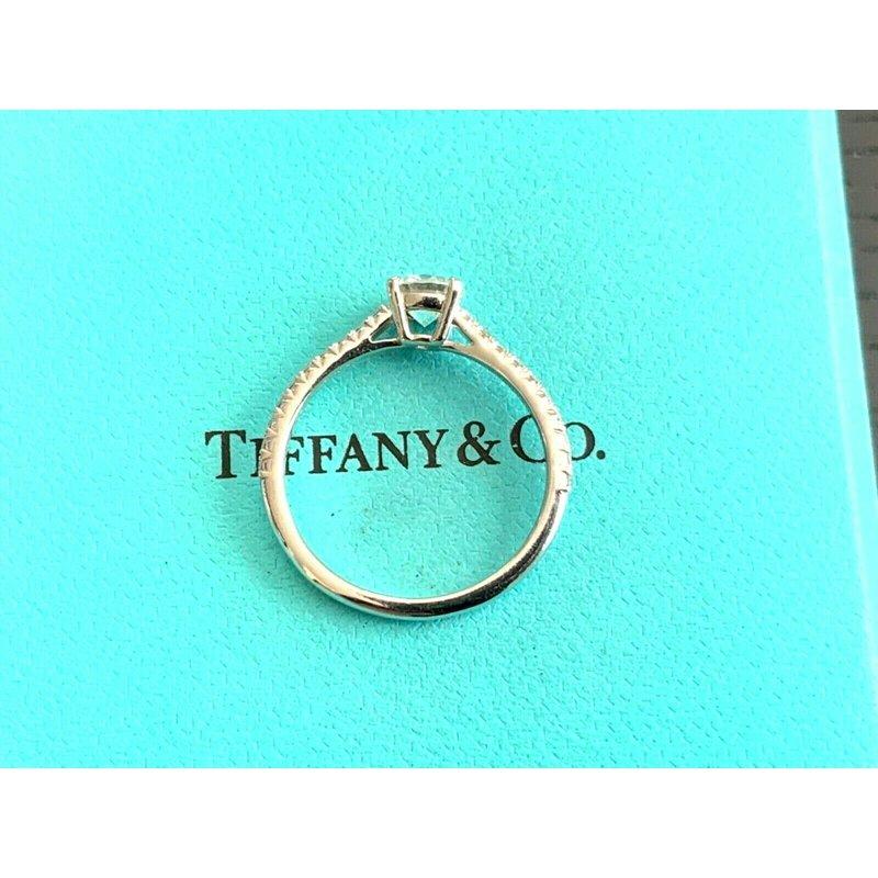 Pre-Loved Jewelry Tiffany Round NOVO .68 ct H VVS2 $7k NEW