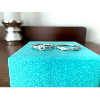 Tiffany HARMONY Ring Set $9k NEW
