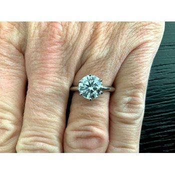 Tiffany Round 2.31 D VS1 3 EXC $99k NEW