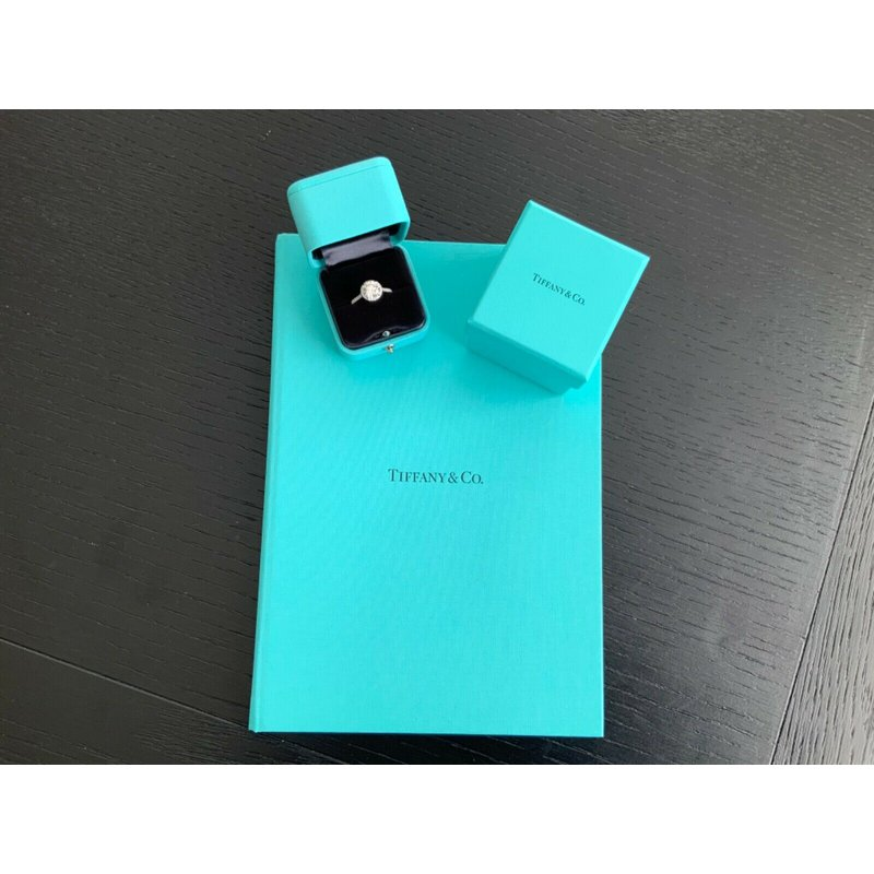 Tiffany ROUND Soleste 2.25 ct 2019 Model $48k NEW