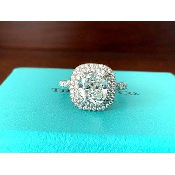 Tiffany Soleste 2.41 ct G VS1 $77k NEW