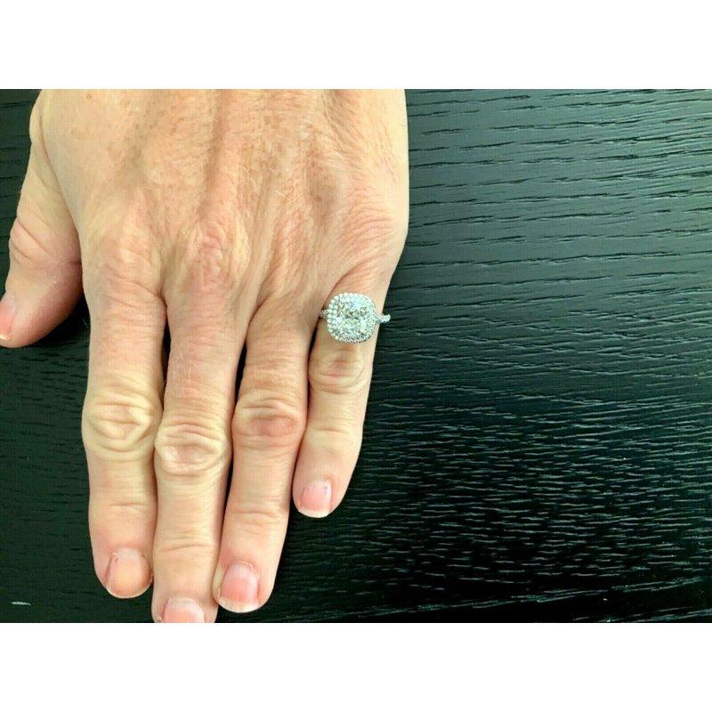 Pre-Loved Jewelry Tiffany Soleste 2.41 ct G VS1 $77k NEW