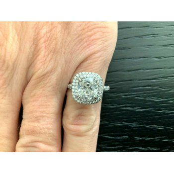 Tiffany Soleste 2.41 ct G VS1 $77k NEW