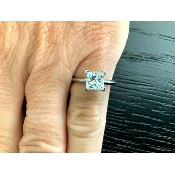 Tiffany Princess 1.15 ct F VVS2 $19k NEW