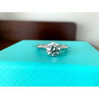 Tiffany Round 1.06 ct I VS2 $15k NEW