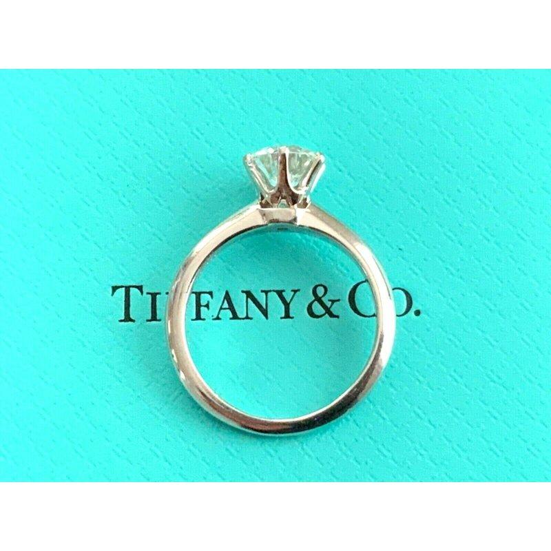 Pre-Loved Jewelry Tiffany Round 1.06 ct I VS2 $15k NEW