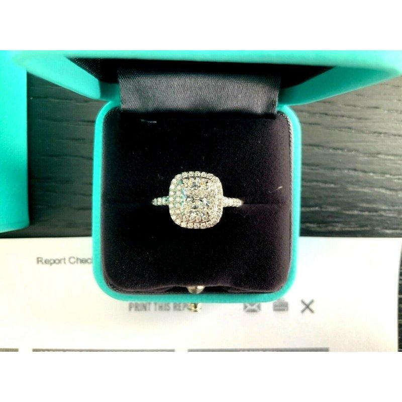 Pre-Loved Jewelry Tiffany Soleste 1.37 ct H VS1 $20k NEW