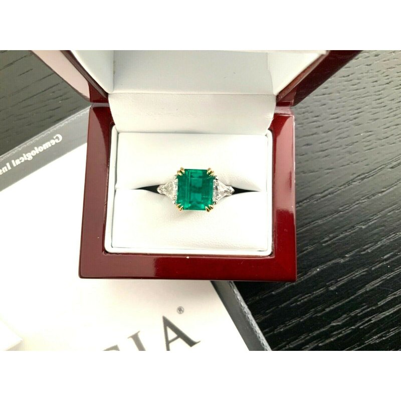 Pre-Loved Jewelry 5 Carat UNTREATED Emerald